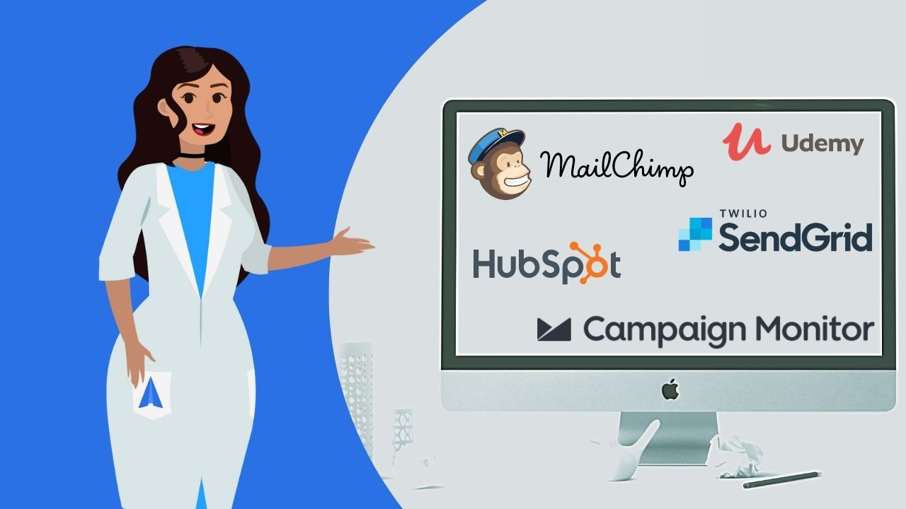 What platforms can I use for email marketing?