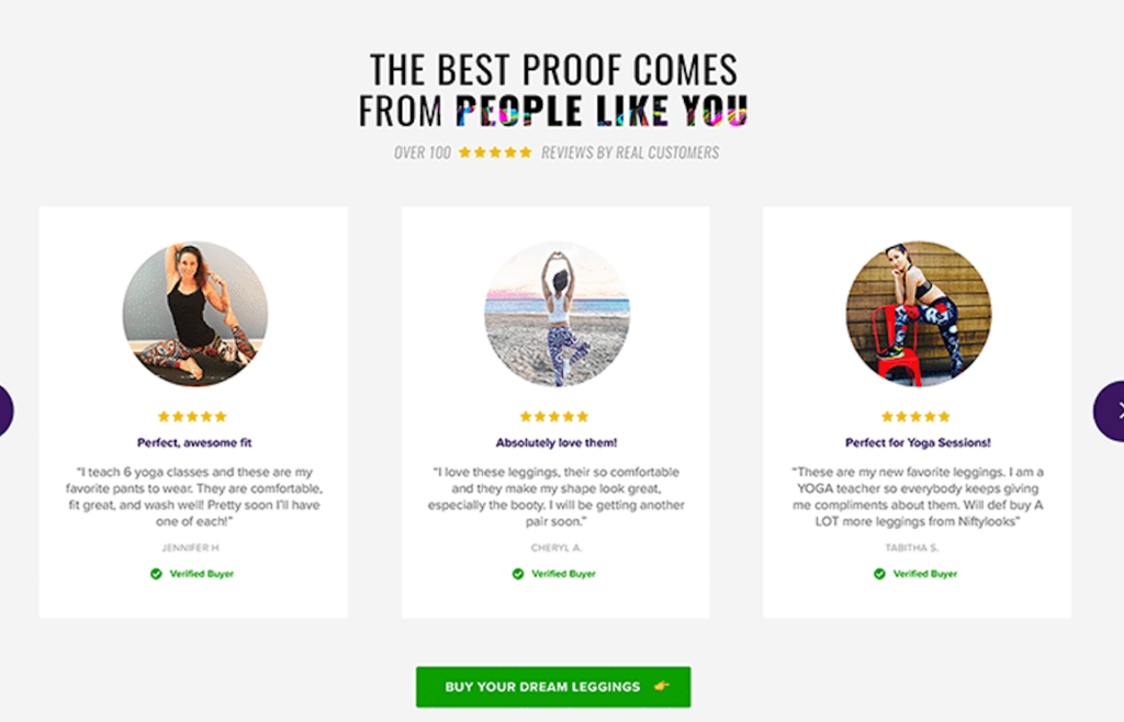 Use Social Proof to bolster your Unique Value Proposition.